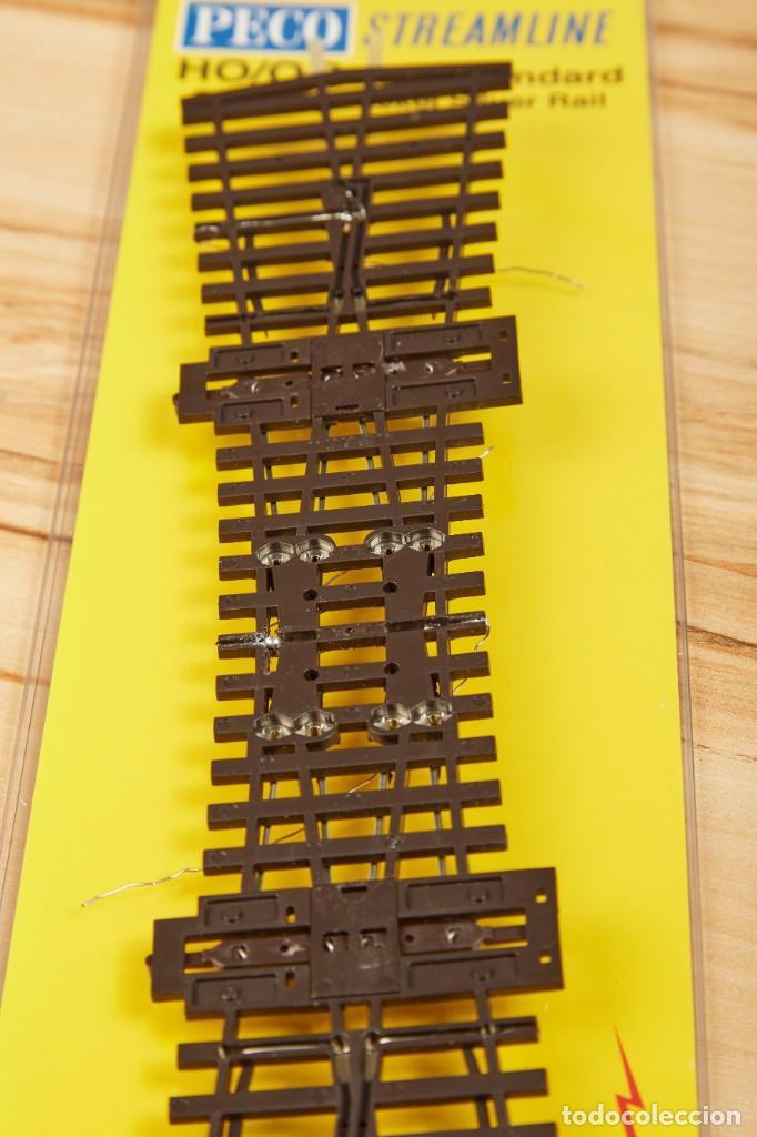 Trenes Escala: Desvío Doble PECO SL-E190 código 75 Electrofrog H0 - Foto 3 - 274394613