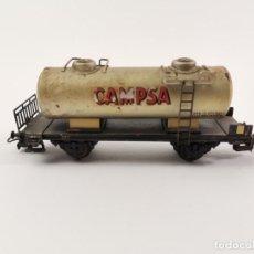 Comboios Escala: VAGON DE TREN DEPOSITO CAMPSA.. Lote 275883228