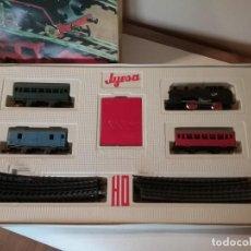 Trenes Escala: TREN CON CAJA ORIGINAL JYESA ESCALA H0 COMPLETO.. Lote 276166963