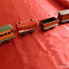Trenes Escala: 18- 4 VAGONES PAYA 0 892 (1950). Lote 276461028