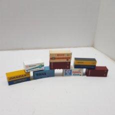 Trains Échelle: LOTE CONTENEDORES TREN HO. Lote 276569448
