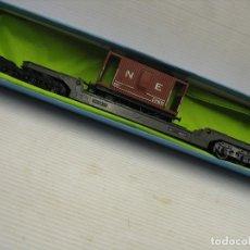 Trenes Escala: VAGON TRIANG HO CON CARGA DE VAGON. Lote 277094048