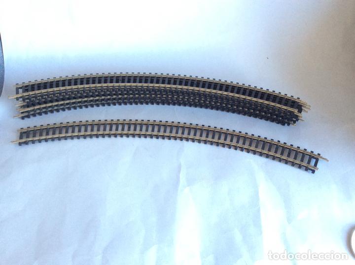 8 VÍAS CURVAS BACHMANN CURVAS (Juguetes - Trenes Escala H0 - Otros Trenes Escala H0)