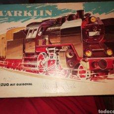 Comboios Escala: CAJA TREN MARKLIN CON VIAS. Lote 277166103