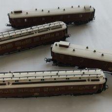 Trenes Escala: 4 VAGONES ALTAYA. Lote 277273288