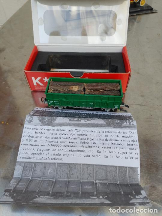 KTRAIN K*TRAIN VAGON TIPO X3 LARGO UNIFICADO RENFE REF 0701-H ESCALA H0 (Juguetes - Trenes Escala H0 - Otros Trenes Escala H0)