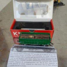 Trenes Escala: KTRAIN K*TRAIN VAGON TIPO X3 LARGO UNIFICADO RENFE REF 0701-H ESCALA H0. Lote 277418433