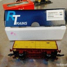 Trenes Escala: R TRAINS. RTRAINS HO. REF 16506/4010 HIKKS 217 1 534 5 HERIS VAGON AMARILLO NUEVO. Lote 277418843