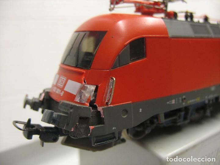 Trenes Escala: LOCOMOTORA PIKO DE LA DB ALEMANA ROJA 57411 - Foto 2 - 277476238
