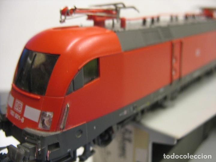 Trenes Escala: LOCOMOTORA PIKO DE LA DB ALEMANA ROJA 57411 - Foto 4 - 277476238