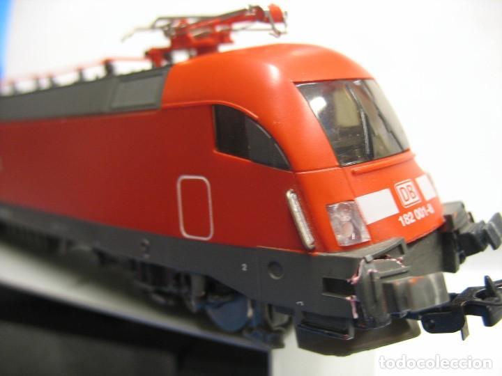 Trenes Escala: LOCOMOTORA PIKO DE LA DB ALEMANA ROJA 57411 - Foto 5 - 277476238