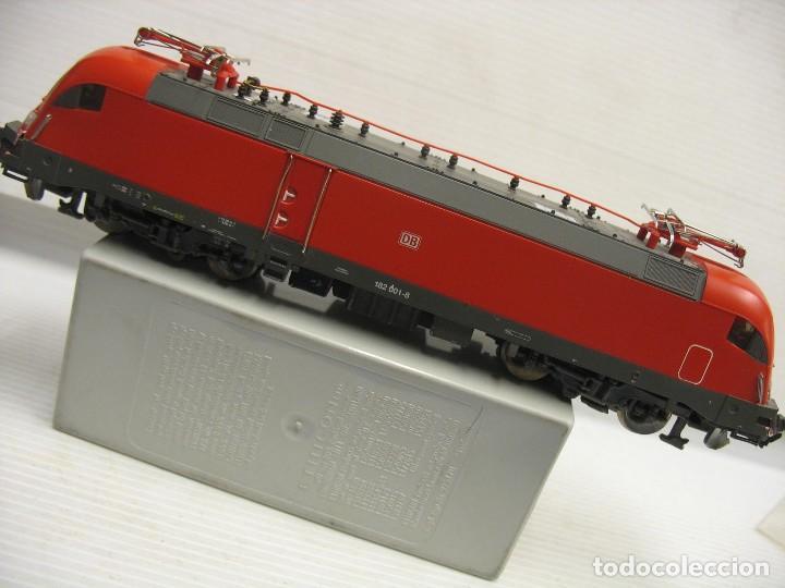 Trenes Escala: LOCOMOTORA PIKO DE LA DB ALEMANA ROJA 57411 - Foto 15 - 277476238
