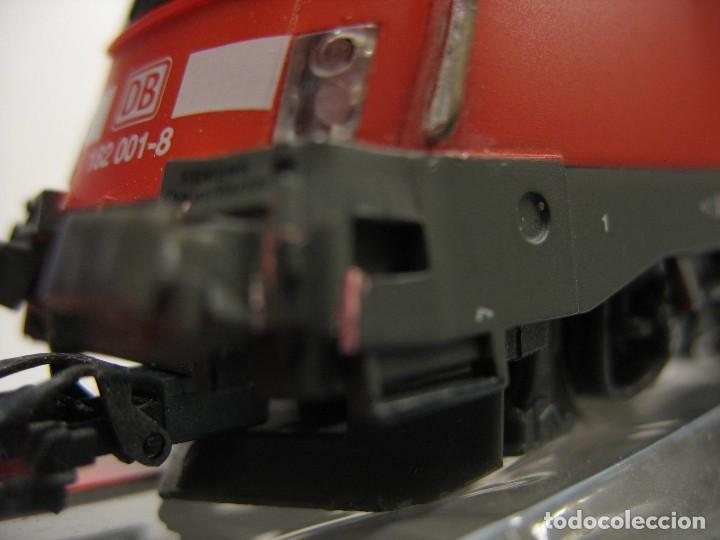 Trenes Escala: LOCOMOTORA PIKO DE LA DB ALEMANA ROJA 57411 - Foto 18 - 277476238