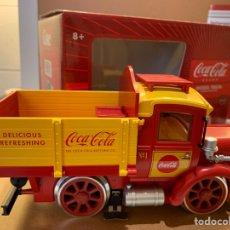 Trenes Escala: LGB REF. 23680 CAMIÓN DE PLATAFORMA O FERROVIARIO COKE BRAND. Lote 277759698