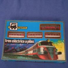 Trenes Escala: TREN ELECTRICO A PILAS MARCA PEQUETREN.REF 508 IBERTREN. Lote 278519768