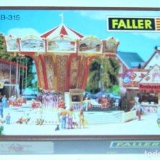 Trenes Escala: FALLER HO CARRUSEL SILLAS VOLANTES CON MOTOR REF. 315, NUEVO PARA MONTAR. Lote 279347518
