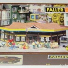 """Trenes Escala: FALLER HO SUPERMERCADO """"EDEKA"""" REF. 342 NUEVO PARA MONTAR. Lote 279347858"""