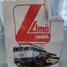 Trenes Escala: VÍAS Y VAGONES LIMA. Lote 281795993