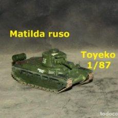 Trenes Escala: MATILDA RUSO, TOYEKO 1/87. Lote 281897978