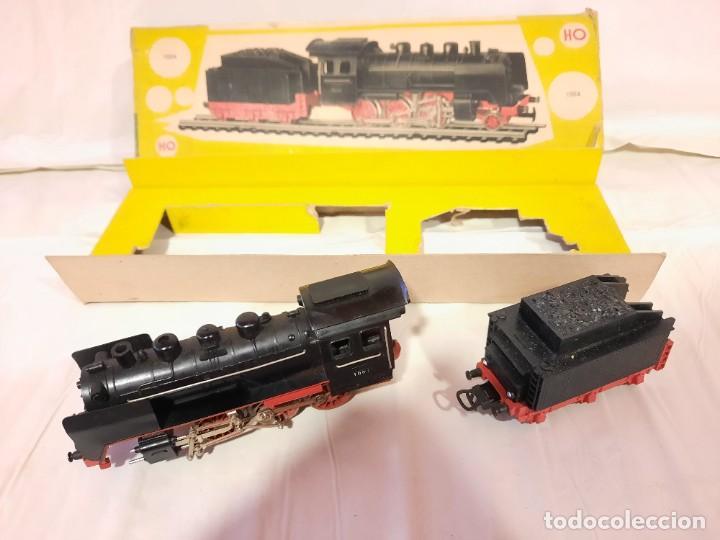 Trenes Escala: JYESA LOCOMOTORA CON LUCES Y TENDER ref 1004 ESCALA H0 - Foto 2 - 284642363
