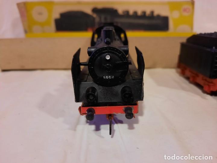 Trenes Escala: JYESA LOCOMOTORA CON LUCES Y TENDER ref 1004 ESCALA H0 - Foto 9 - 284642363
