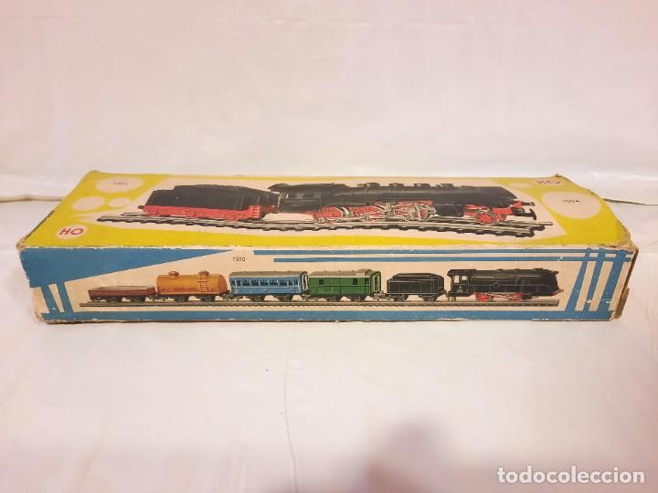 Trenes Escala: JYESA LOCOMOTORA CON LUCES Y TENDER ref 1004 ESCALA H0 - Foto 21 - 284642363