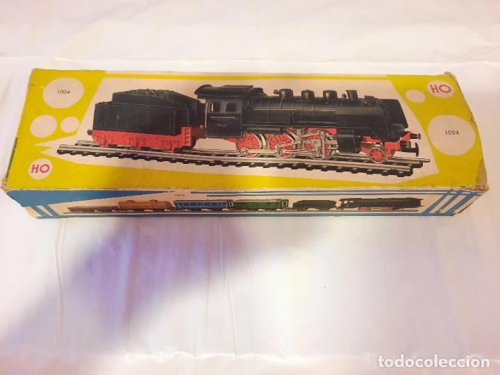 Trenes Escala: JYESA LOCOMOTORA CON LUCES Y TENDER ref 1004 ESCALA H0 - Foto 22 - 284642363