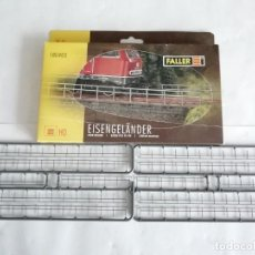 Trenes Escala: FALLER H0 180403 BARANDILLA DE HIERRO PARA VÍAS NUEVA OVP. Lote 286237528