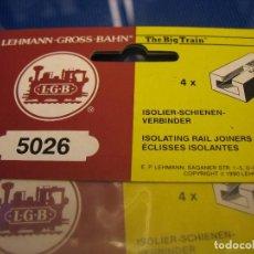 Trenes Escala: AISLADORES DE CORRIENTE PARA LGB. Lote 286888503
