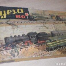 Trenes Escala: TREN JYESA HO - EN SU CAJA - LOCOMOTORA CON DEFECTOS. Lote 286892928