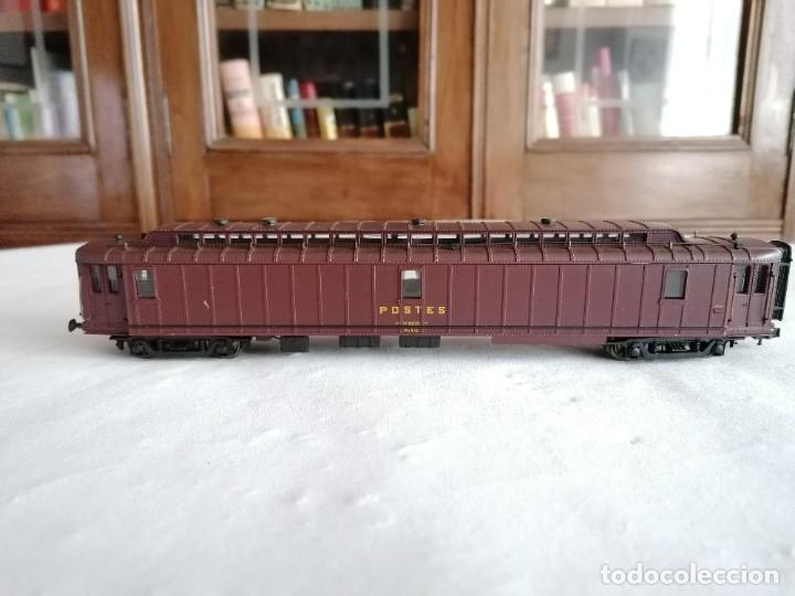 JOUEF H0 VAGÓN POSTAL SNCF FRANCÉS BUEN ESTADO (Juguetes - Trenes Escala H0 - Otros Trenes Escala H0)