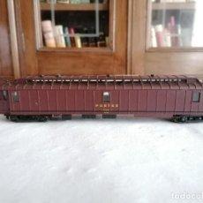 Trenes Escala: JOUEF H0 VAGÓN POSTAL SNCF FRANCÉS BUEN ESTADO. Lote 287619903