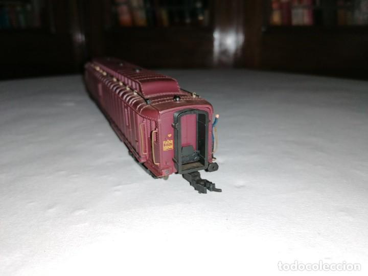 Trenes Escala: Jouef H0 Vagón Postal SNCF Francés Buen Estado - Foto 2 - 287619903