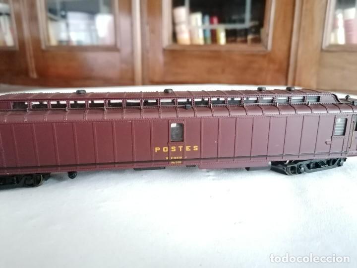 Trenes Escala: Jouef H0 Vagón Postal SNCF Francés Buen Estado - Foto 4 - 287619903