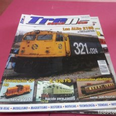 Trenes Escala: REVISTA TREN MANIA. Lote 287805598