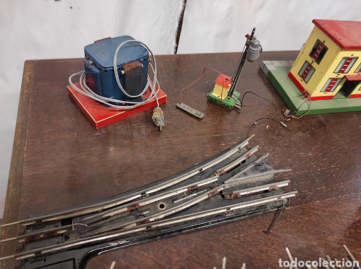 Trenes Escala: Lote juguetes tren locomotoras estación Payá - Foto 3 - 287995773