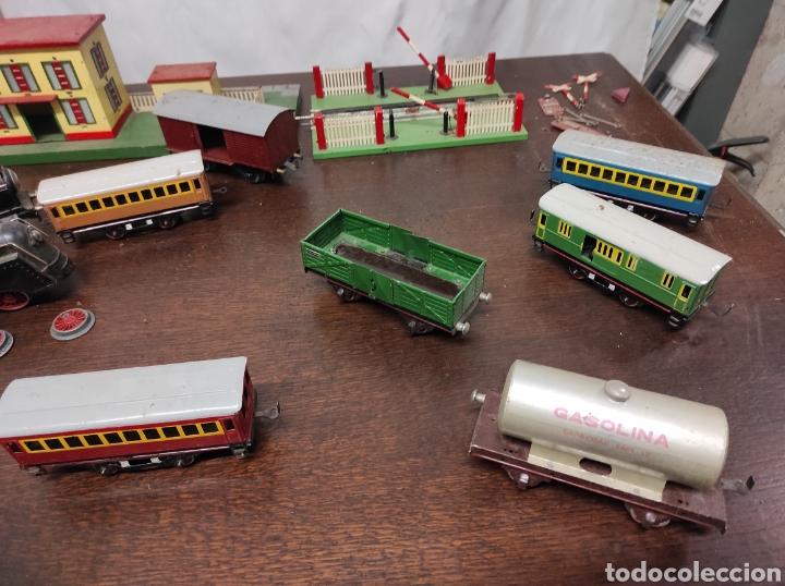 Trenes Escala: Lote juguetes tren locomotoras estación Payá - Foto 4 - 287995773