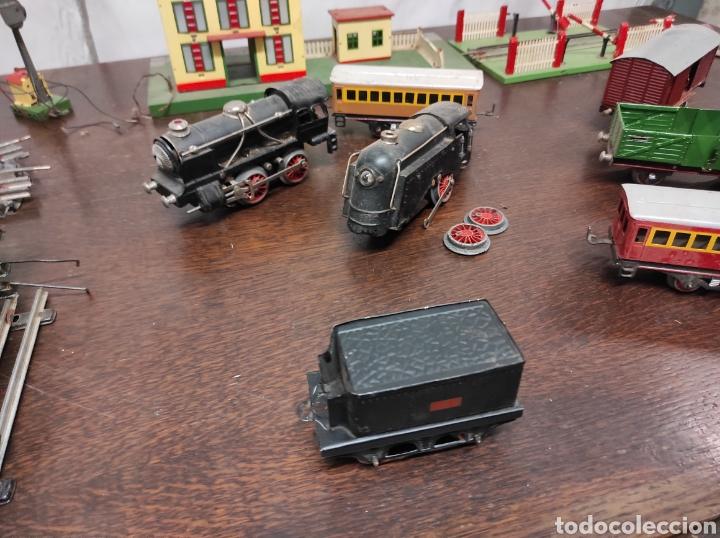 Trenes Escala: Lote juguetes tren locomotoras estación Payá - Foto 6 - 287995773