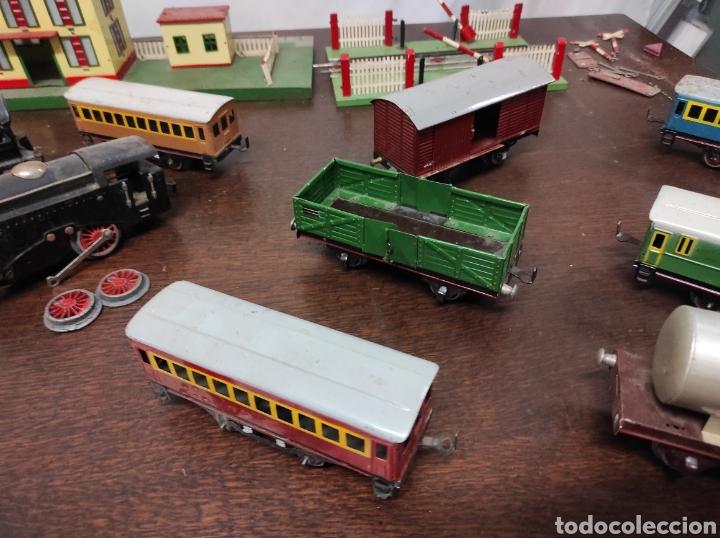 Trenes Escala: Lote juguetes tren locomotoras estación Payá - Foto 9 - 287995773