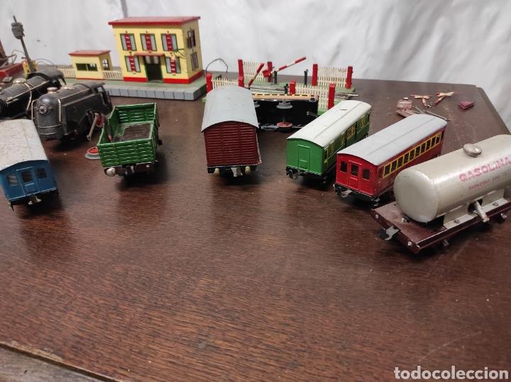 Trenes Escala: Lote juguetes tren locomotoras estación Payá - Foto 11 - 287995773