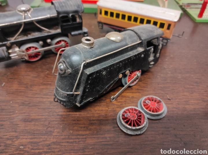 Trenes Escala: Lote juguetes tren locomotoras estación Payá - Foto 13 - 287995773