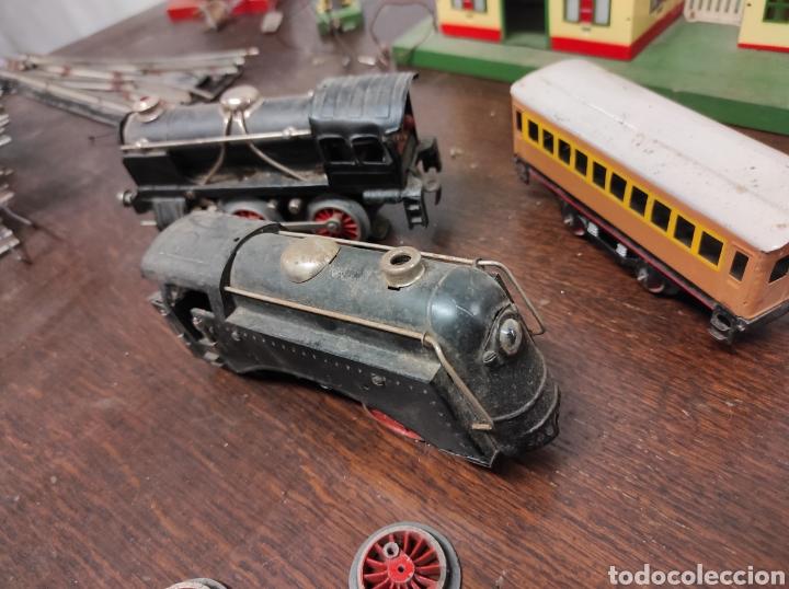 Trenes Escala: Lote juguetes tren locomotoras estación Payá - Foto 14 - 287995773
