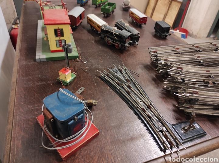 Trenes Escala: Lote juguetes tren locomotoras estación Payá - Foto 17 - 287995773