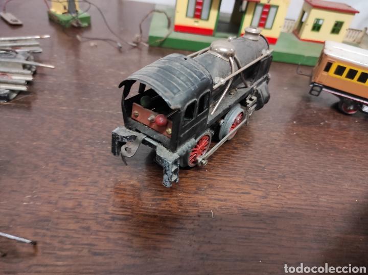 Trenes Escala: Lote juguetes tren locomotoras estación Payá - Foto 24 - 287995773