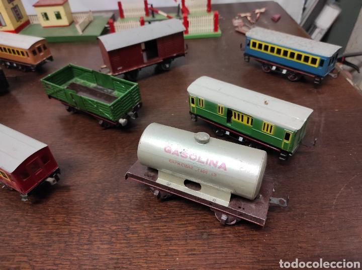 Trenes Escala: Lote juguetes tren locomotoras estación Payá - Foto 25 - 287995773