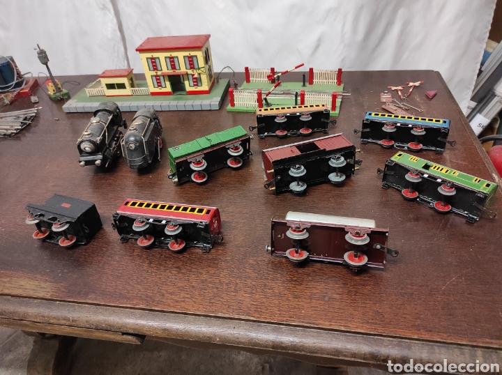 Trenes Escala: Lote juguetes tren locomotoras estación Payá - Foto 27 - 287995773