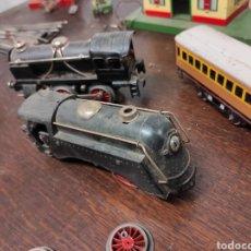 Trenes Escala: LOTE JUGUETES TREN LOCOMOTORAS ESTACIÓN PAYÁ. Lote 287995773
