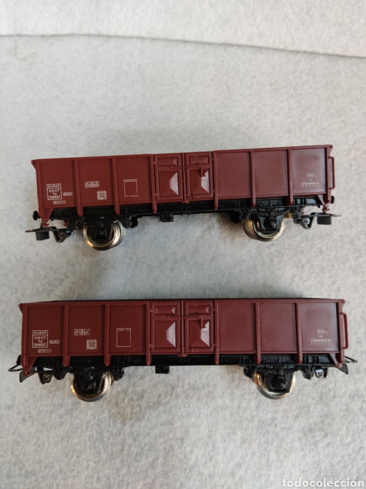 Trenes Escala: Lote de 2 vagones Jouef, h0 - Foto 3 - 288008773