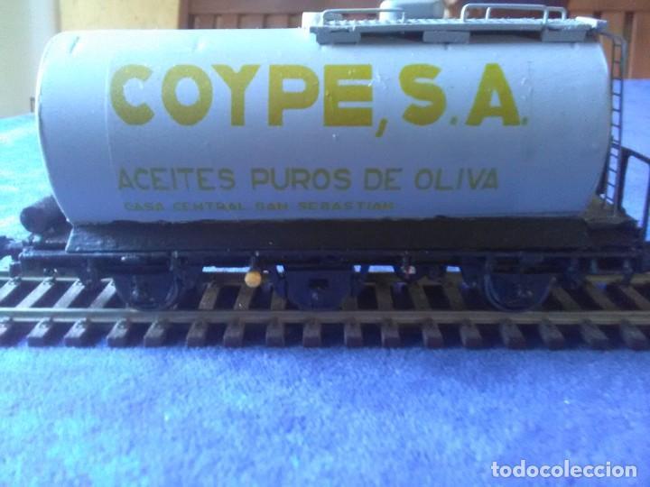 VAGÓN CISTERNA COYPE DE TRES EJES (Juguetes - Trenes Escala H0 - Otros Trenes Escala H0)