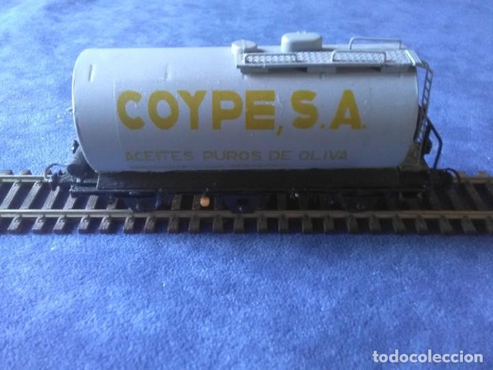 Trenes Escala: VAGÓN CISTERNA COYPE DE TRES EJES - Foto 2 - 288010923